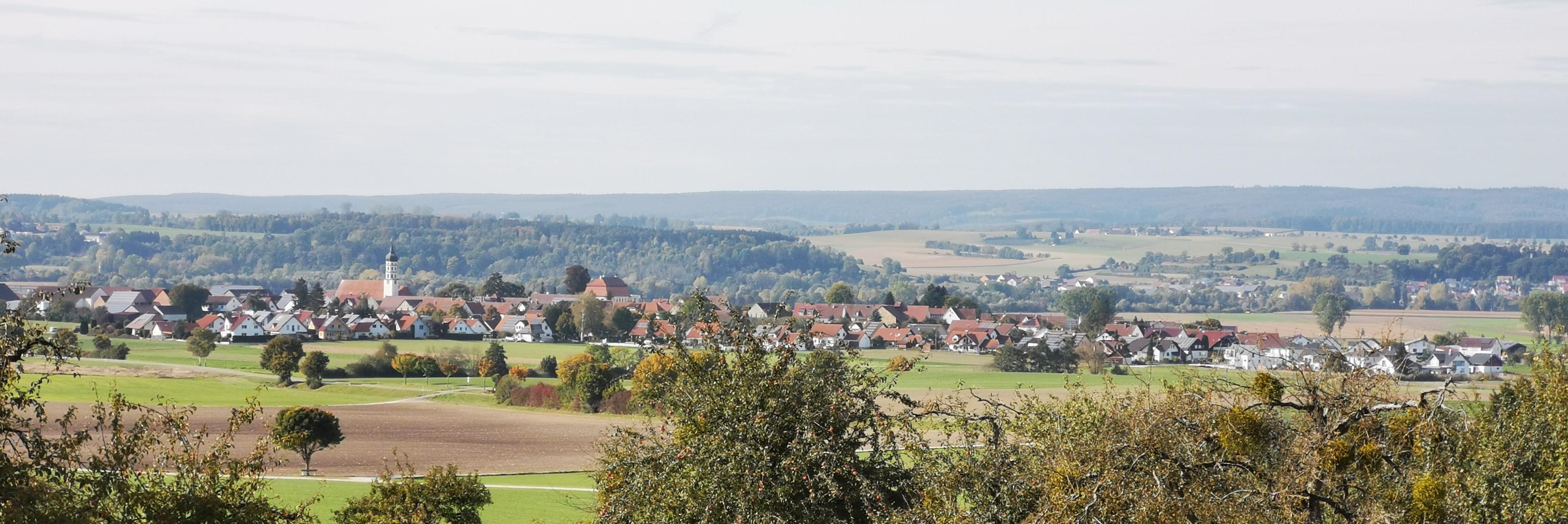 Panorama der Gemeinde Kirchbierlingen